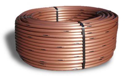 Капельная труба компенсированная XF, 2,3 л/ч, 0,33м, 17 мм